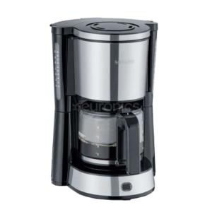 سيفيرين ماكينة صنع القهوة 1000 واط 1.25 لتر لون ستانلس ستيل موديل رقم : 4822
