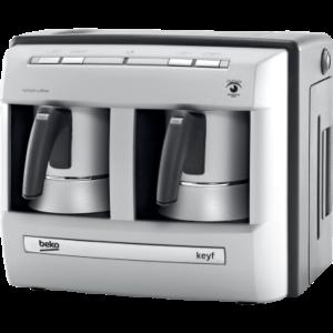 بيكو ماكينة صنع القهوة التركية 1200 واط 4 أكواب لون فضي موديل رقم: BKK2113