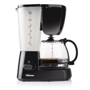 تري ستار ماكينة صنع القهوة 800 واط 1.52 لتر لون أسود موديل رقم: CM-1237