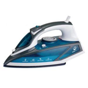 هوم الكتريك مكواة بخار 2200 واط لون أزرق موديل رقم: HIT-88