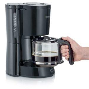 سيفيرين ماكينة صنع القهوة 1000 واط 1.25 لتر لون أسود موديل رقم: 4815