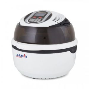 سامكس مقلاة بزيت 10 لتر 1300 واط ابيض موديل رقم: SNK-AF002L