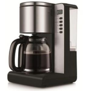 دايو ماكينة صنع القهوة 1000 واط 1.50 لتر لون ستانلس ستيل موديل رقم: DE-1101TB