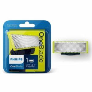 فيليبس ماكينة حلاقة و تشذيب الشعر مع شفرة قابلة للاستبدال QP210/50