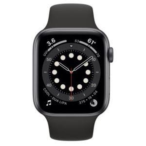 ابل ساعة ذكية سيريز 6 جي بي اس 44 ملم رمادي موديل رقم: M00H3AE/A