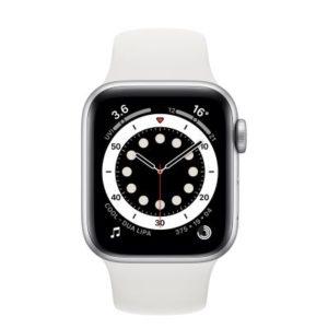 ابل ساعة ذكية سيريز 6 جي بي اس 40 ملم ابيض