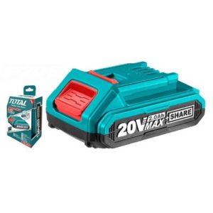 توتالبطارية ليثيوم 20 فولت 2 امبير TFBLI2001